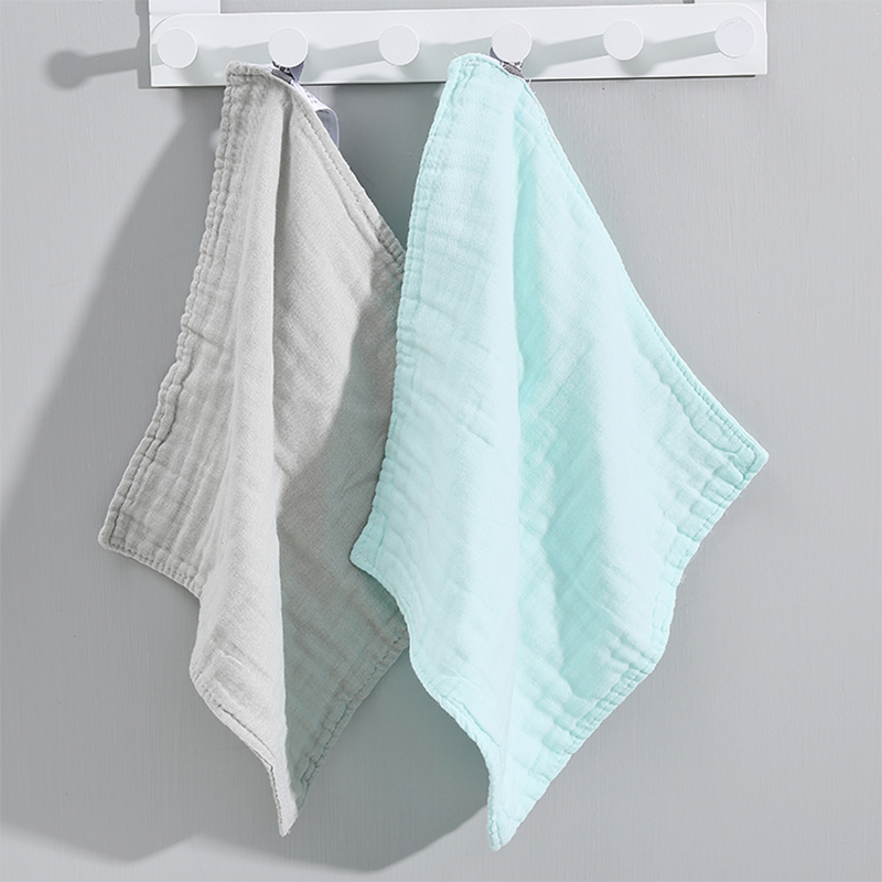 Pure Cotton Square Towel - Two Pieces