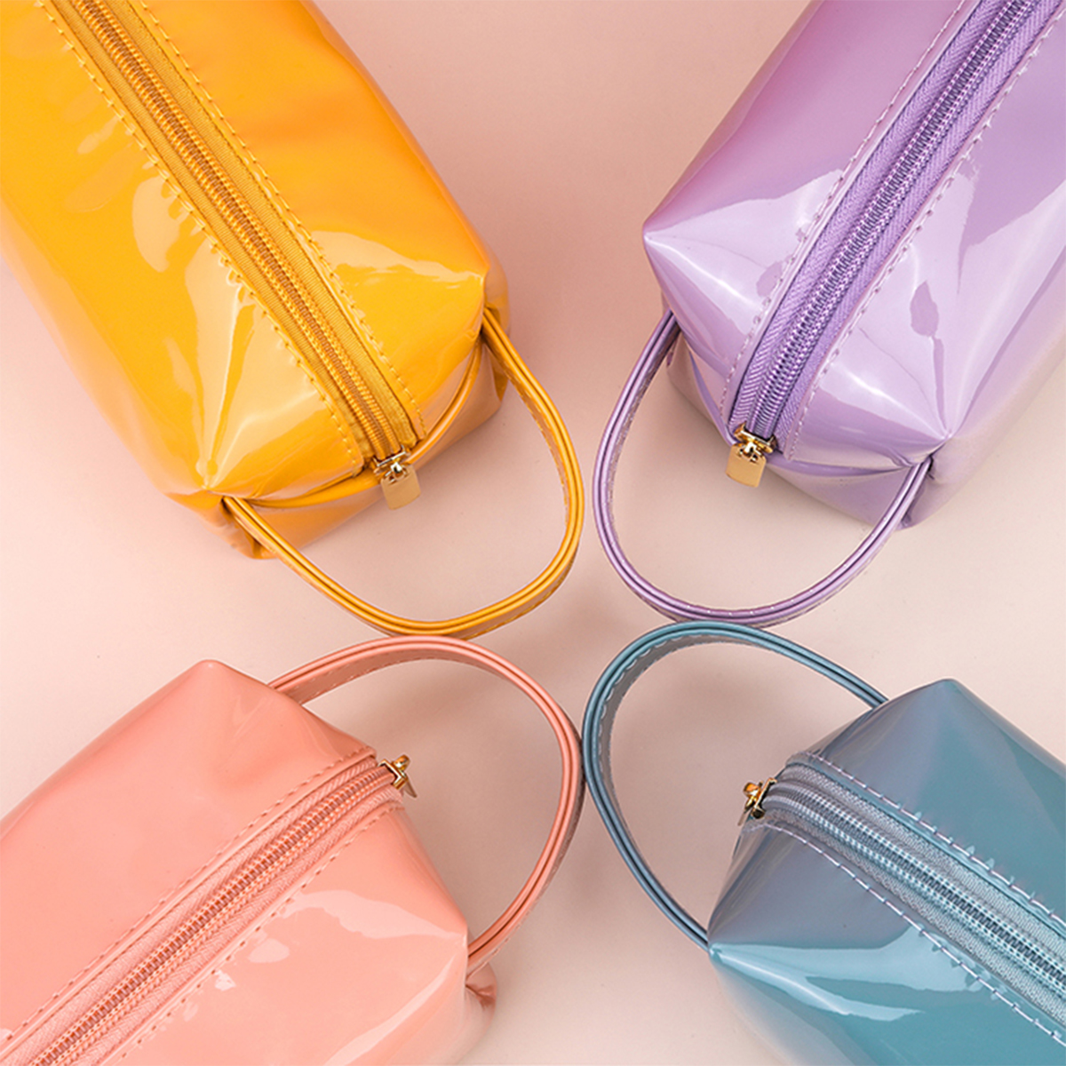 Colorful Cosmetics Bag