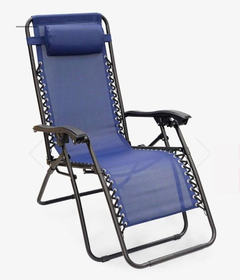 Comfortable camping chair