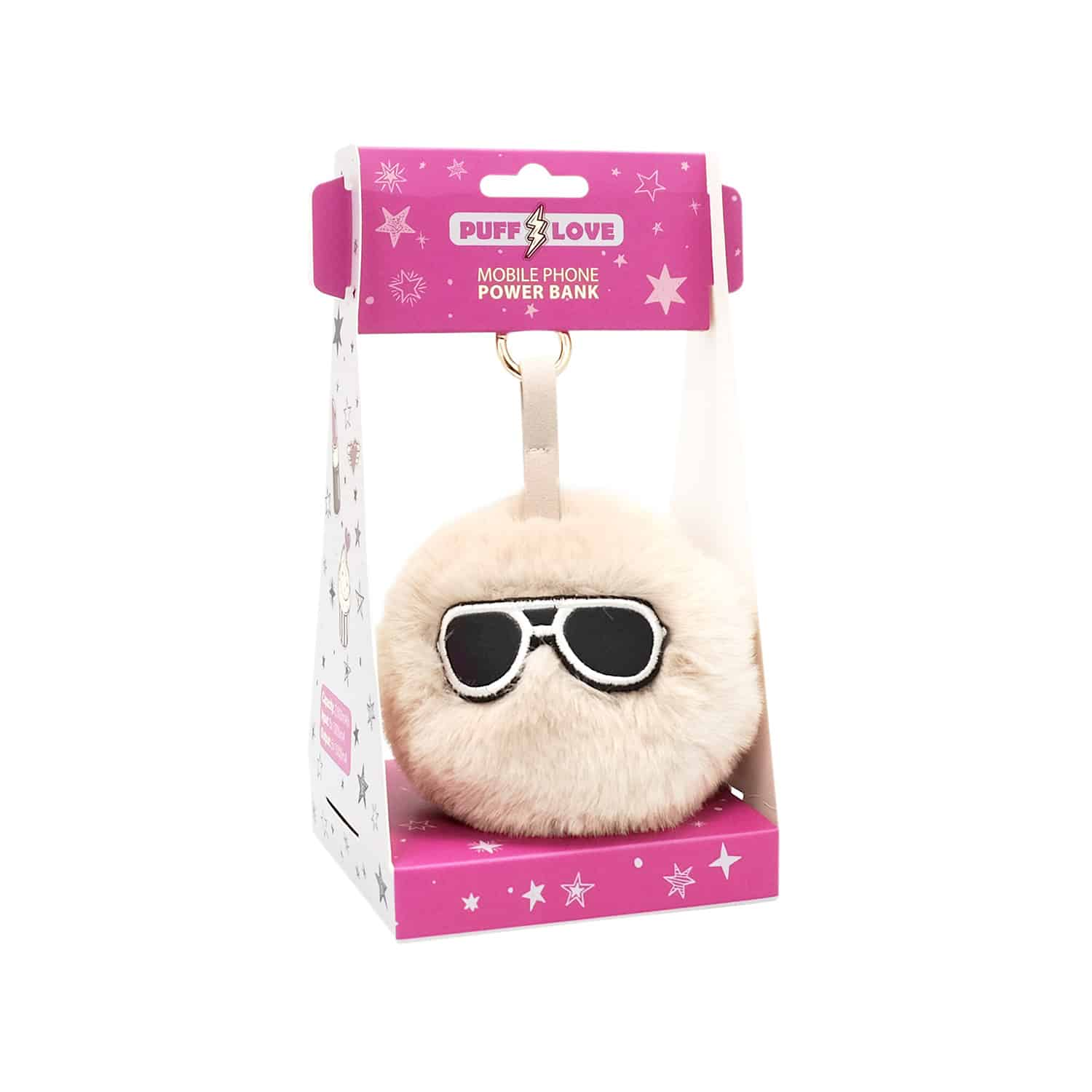 Portable Battery Puff Love Ponphone Sunglasses 619172
